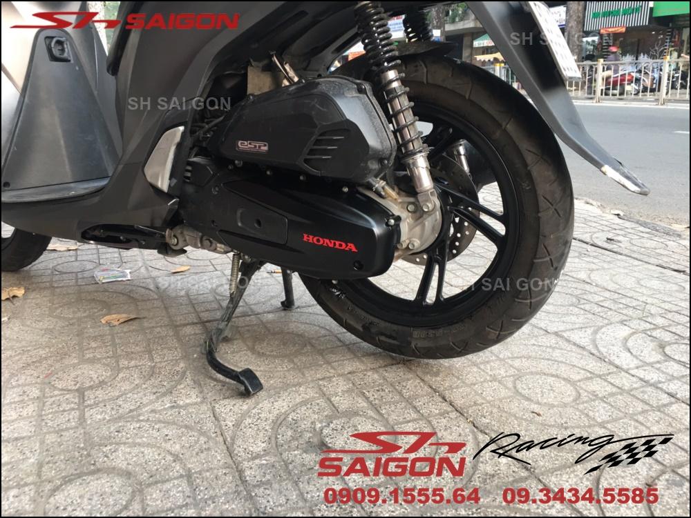 Hình ảnh sơn vành xe SH sporty uy tín giá phải chăng tại Sài Gòn